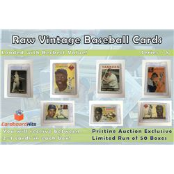Cardboard Hits Presents Vintage Card Mystery Box Series 8