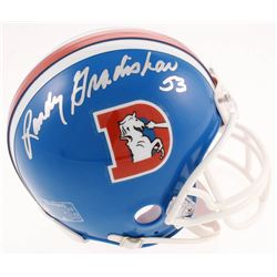Randy Gradishar Signed Broncos Throwback Mini-Helmet (JSA COA)