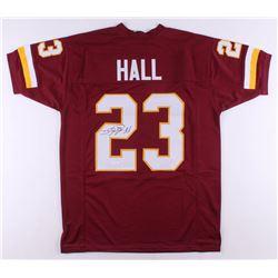DeAngelo Hall Signed Jersey (JSA COA)