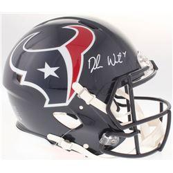 Deshaun Watson Signed Texans Full-Size Authentic On-Field Speed Helmet (JSA COA)