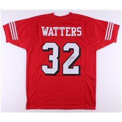 Ricky Watters Signed Jersey (Beckett COA)