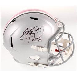 "Eddie George Signed Ohio State Buckeyes Full-Size Speed Helmet Inscribed ""Heisman 1995"" (Beckett COA"