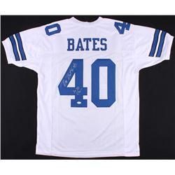 "Bill Bates Signed Jersey Inscribed ""3x SB Champs"" (JSA COA)"