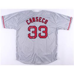 """Jose Canseco Signed Jersey Inscribed """"40/40"""" (Tristar Hologram)"""