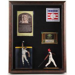 Ken Griffey Jr. 12.5x15.5x2.5 Custom Shadowbox Autograph Baseball Card Display