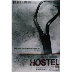 "Jennifer Lim  Barbara Nedeljakova Signed ""Hostel"" 27x40 Movie Poster Photo Inscribed ""Let's go to di"