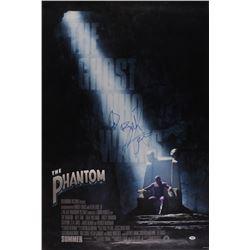 """Billy Zane Signed """"The Phantom"""" 27x40 Movie Poster Photo (PSA COA)"""