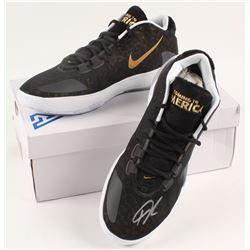 Giannis Antetokounmpo Signed Pair of (2) Nike Zoom Freak 1 Basketball Shoes (JSA COA)