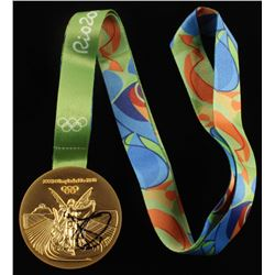 Kyrie Irving Signed Rio 2016 Olympic Games Gold Medal (JSA COA)