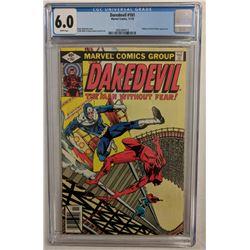 "1979 ""Daredevil"" Issue #161 Marvel Comic Book (CGC 6.0)"