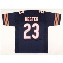 Devin Hester Signed Jersey (JSA COA)