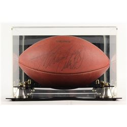 """Adrian Peterson Signed """"The Duke"""" Official NFL Game Ball with Display Case (JSA Hologram)"""