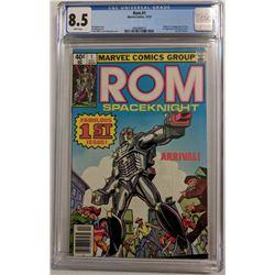 "1979 ""ROM Spaceknight"" Issue #1 Marvel Comic Book (CGC 8.5)"