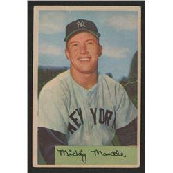 Mickey Mantle 1954 Bowman #65