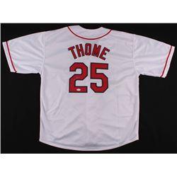 Jim Thome Signed Jersey (JSA COA)