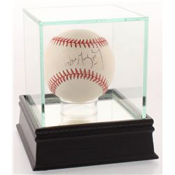 Wayne Gretzky Signed ONL Baseball with High Quality Display Case (JSA COA)