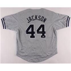Reggie Jackson Signed Jersey (Beckett COA)