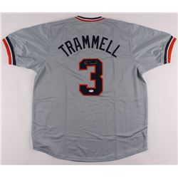 Alan Trammell Signed Jersey (JSA COA)