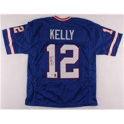 Jim Kelly Signed Jersey (PSA COA  Kelly Hologram)