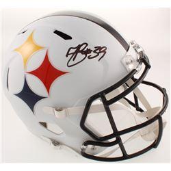Minkah Fitzpatrick Signed Steelers Full-Size AMP Alternate Speed Helmet (Beckett COA)