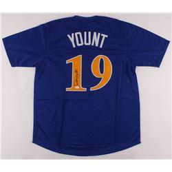 Robin Yount Signed Jersey (JSA COA)