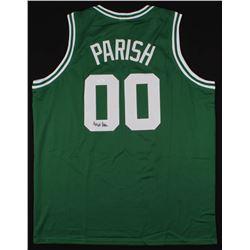 Robert Parish Signed Jersey (JSA COA)