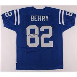 "Raymond Berry Signed Jersey Inscribed ""HOF 73"" (PSA COA)"