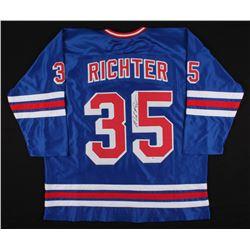Mike Richter Signed Jersey (PSA COA)
