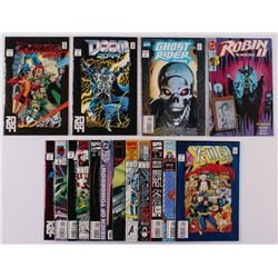 Lot of (16) Assorted Issue #1 Comic Books with Spider-Man 2099, X-Men 2099, Gambit, Robin II, Ghost