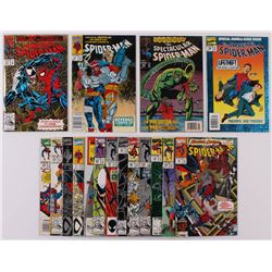 Lot of (17) Assorted Marvel Comic Books with Spider-Man, The Amazing Spider-Man, The Spectacular Spi