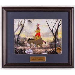 "Walt Disney's ""Winnie-the-Pooh"" 17x20 Custom Framed Hand-Painted Animation Serigraph Display"
