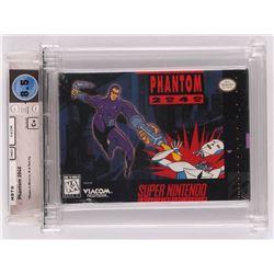 "1991 ""Phantom 2040"" Super Nintendo Video Game (Wata Certified 8.5)"