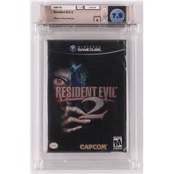 "1998 ""Resident Evil 2"" Nintendo Gamecube Video Game (Wata Certified 7.5)"