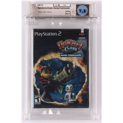 """2003 """"Ratchet  Clank: Going Commando"""" Playstation 2 Video Game (Wata Certified 9.6)"""