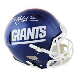 Michael Strahan Signed Giants Full-Size Authentic On-Field Speed Helmet (Radtke COA)
