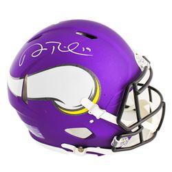 Adam Thielen Signed Vikings Full-Size Authentic On-Field Speed Helmet (Radtke COA)