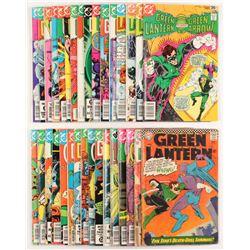 "Lot of (32) 1960-1988 ""Green Lantern"" 1st Series DC Comic Books"