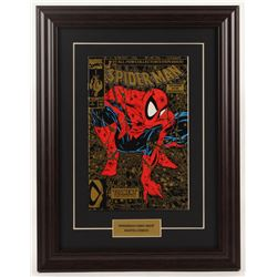 """Vintage 1990 """"The Amazing Spider-Man: Torment Part 1"""" Issue #1 13.5x17.5 Custom Framed Marvel Comic"""