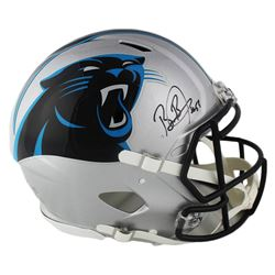 Brian Burns Signed Panthers Full-Size Authentic On-Field Speed Helmet (Radtke COA)