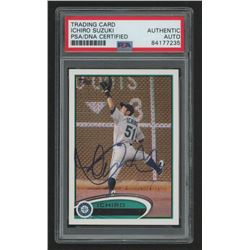 Ichiro Signed Signed 2012 Topps #537A (PSA Encapsulated)