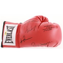 Everlast Boxing Glove Signed by (5) with Ray Mercer, Tony Tubbs, Hasim Rahman, Iran Barkley  Oliver