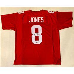 Daniel Jones Signed Jersey (Beckett COA)