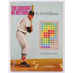 """Ted Williams Signed Vintage 1971 """"The Science of Hitting"""" Hardcover Book (JSA ALOA)"""
