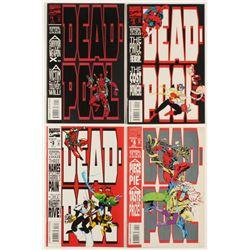 "Lot of (4) 1993 ""Deadpool"" Marvel Comic Books"
