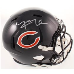Khalil Mack Signed Bears Full-Size Speed Helmet (Beckett COA)