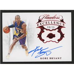 Kobe Bryant 2018-19 Panini Flawless Excellence Signatures Ruby #2