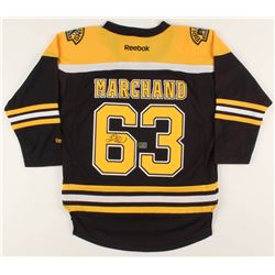 Brad Marchand Signed Bruins Jersey (Marchand COA)