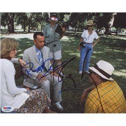 "Tom Hanks, Robert Zemeckis  Robin Wright Signed ""Forrest Gump"" 8x10 (PSA LOA)"