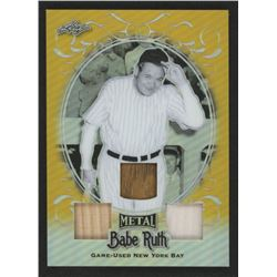 Babe Ruth 2019 Leaf Metal Babe Ruth Collection Triple Bats Gold #TB22