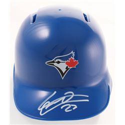 Vladimir Guerrero Jr. Signed Blue Jays Mini Batting Helmet (Guerrero Jr. Hologram)